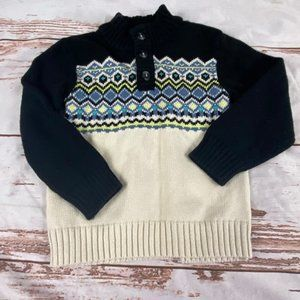 Gymboree boys winter sweater-Geometric-size 3T